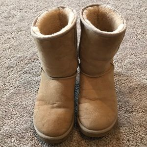 Ugg classic short boots-9